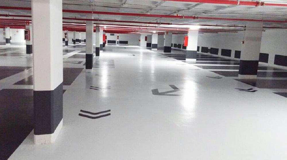 pintura de garajes en Logroño la rioja parkings aparcamientos