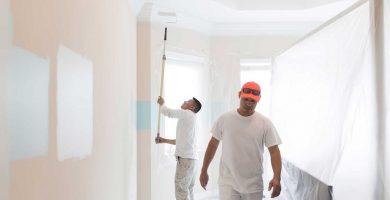 Pintar piso en Logroño
