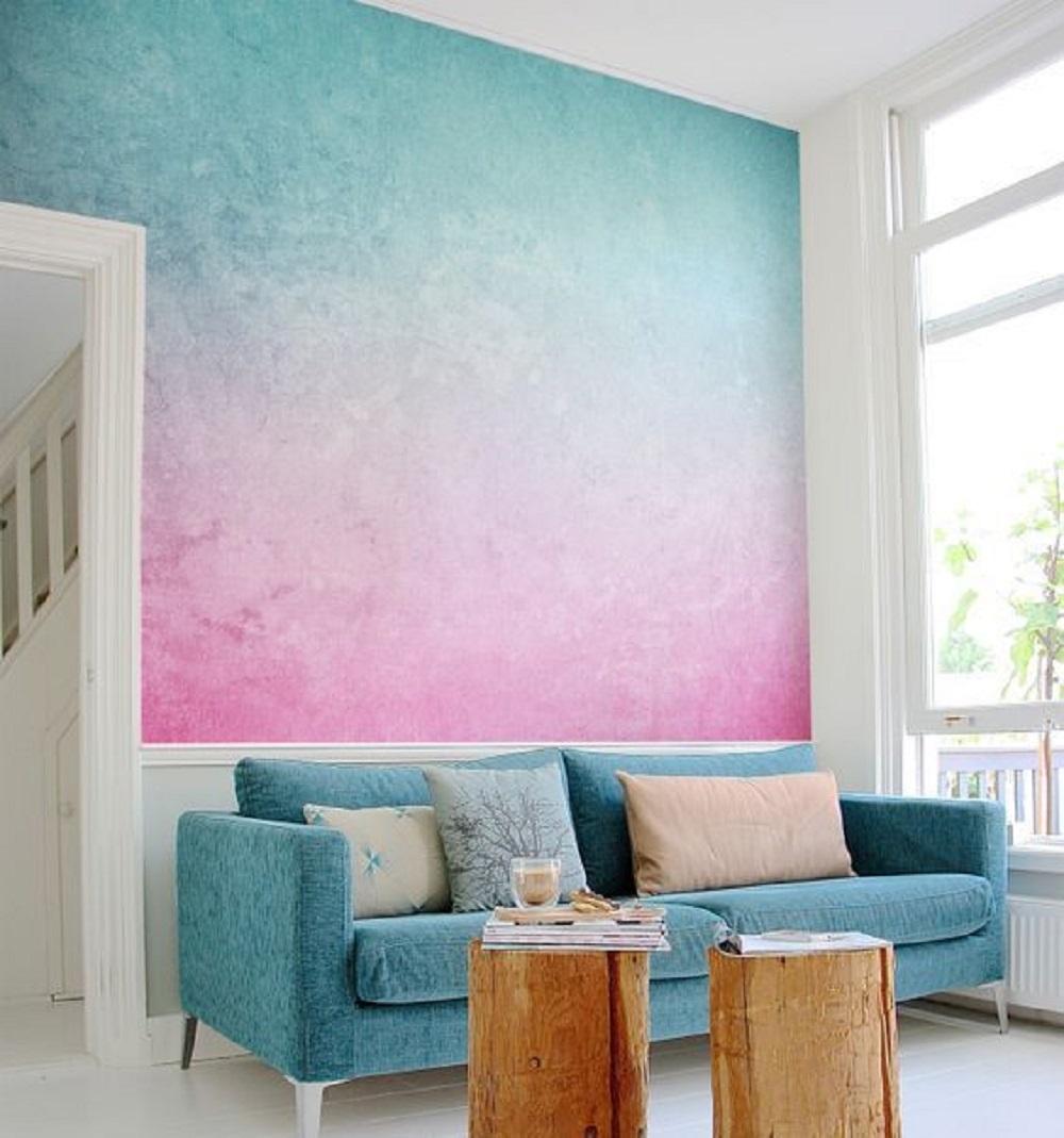 Pintura efecto nube, imitando nubes. Pintores Logroño.
